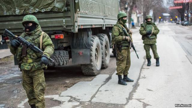 <!--:UK-->Російська армія здійснила військове вторгнення на територію Автономної Республіки Крим<!--:-->