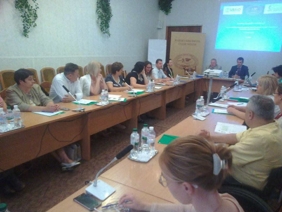Судді Київської області пройшли навчання щодо покращення їх комунікаційних навичок у роботі із людьми з інвалідністю.