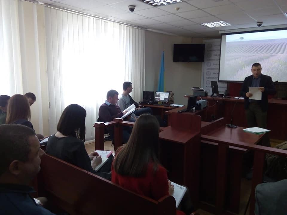 Робоча зустріч з представниками судів Закарпатської області