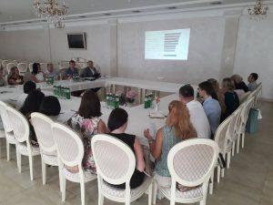 30 липня 2019р., у м. Мукачево, відбувся круглий стіл з представниками судів Закарпатської області.