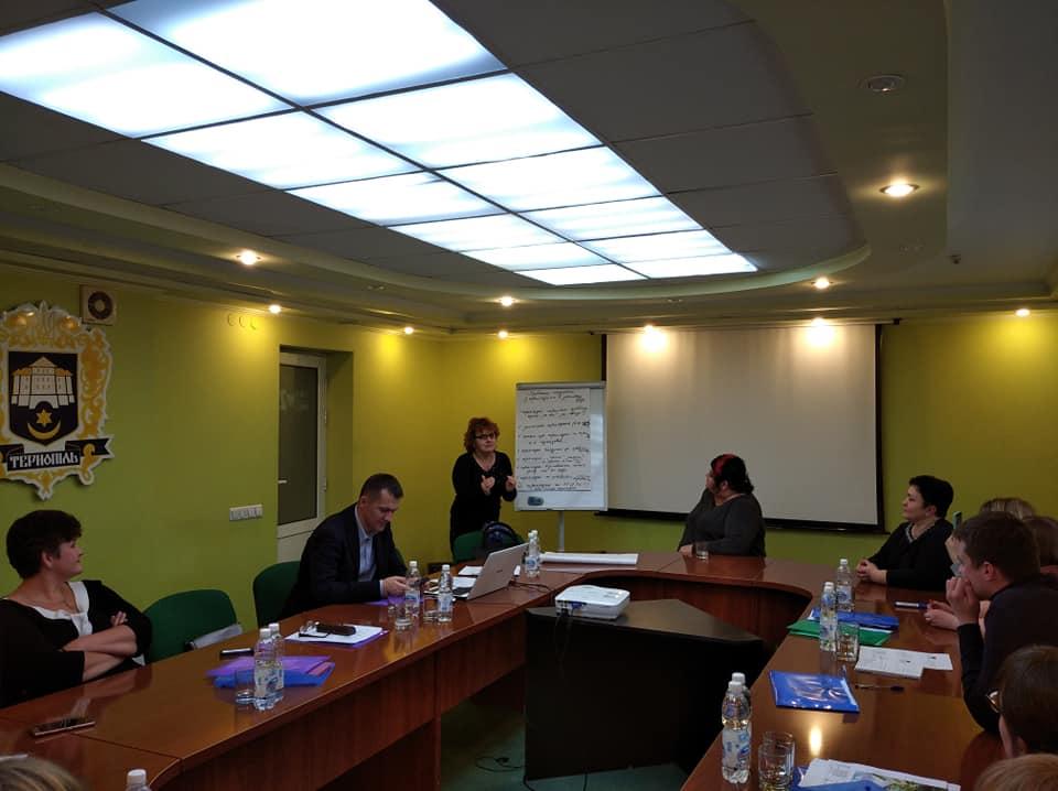 Семінар для перекладачів жестової мови у Тернополі